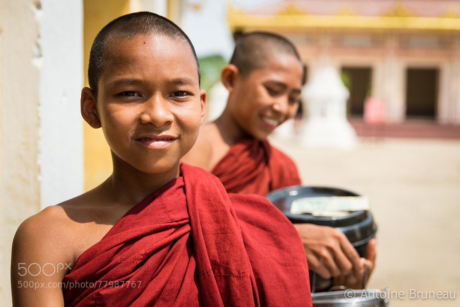 Photograph Happy Monks