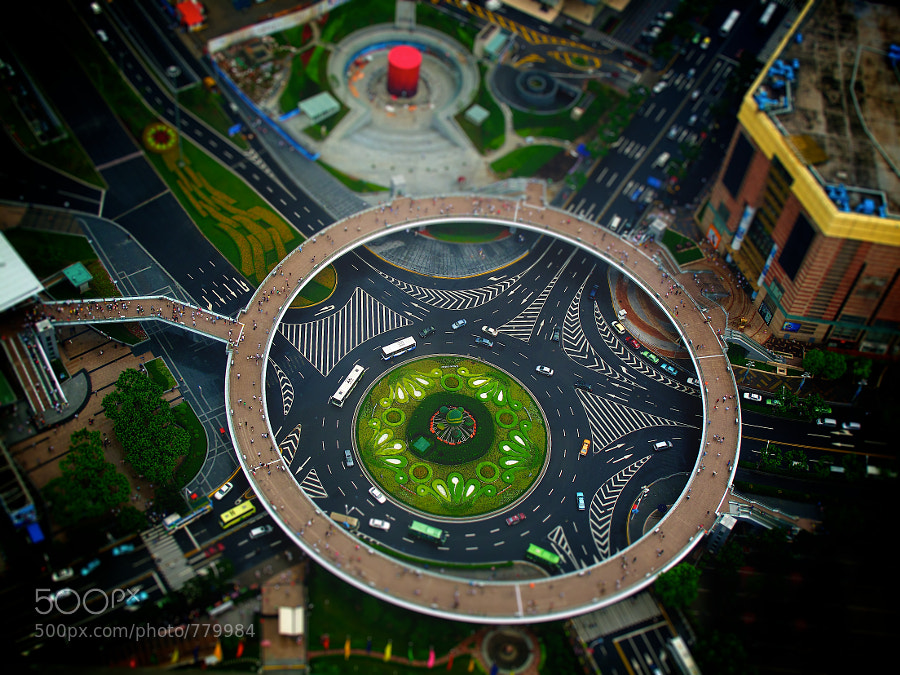 Photograph miniature shanghai by Nicolas Rollier on 500px