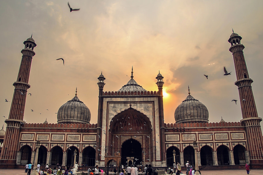 Photograph Jama masjid by Samarpit Vatry on 500px