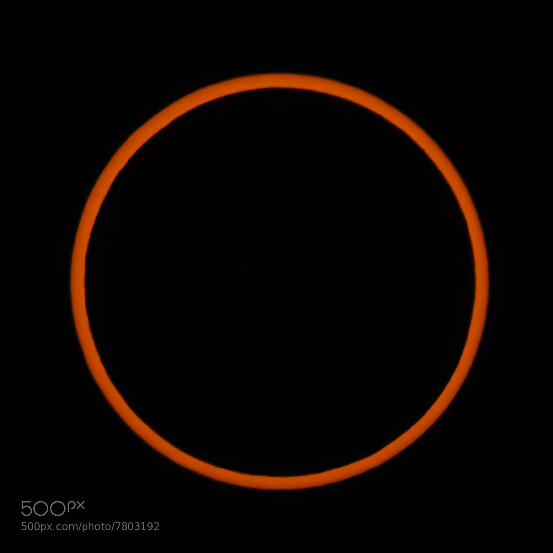 Photograph 2012 Annular Eclipse by Jeff McGrath on 500px