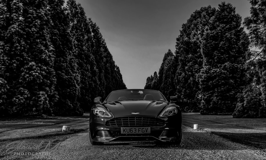 Aston Martin Vanquish Volante - Head on Magazine shot
