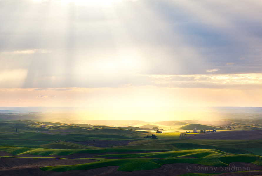 Photograph Palouse Light Show by Danny Seidman on 500px
