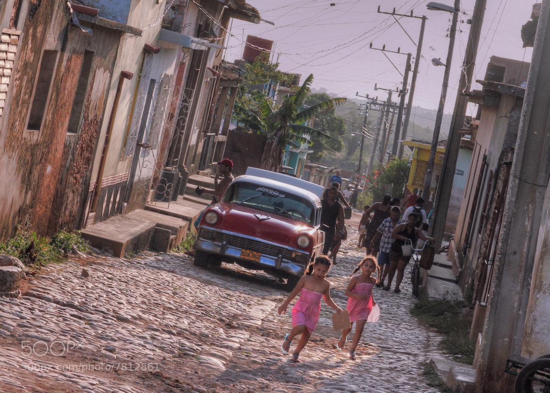 Photograph Cuba girls by Doug Wheller on 500px