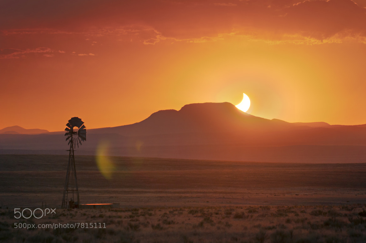 Photograph Eclipsed Sunset by Knate Myers on 500px
