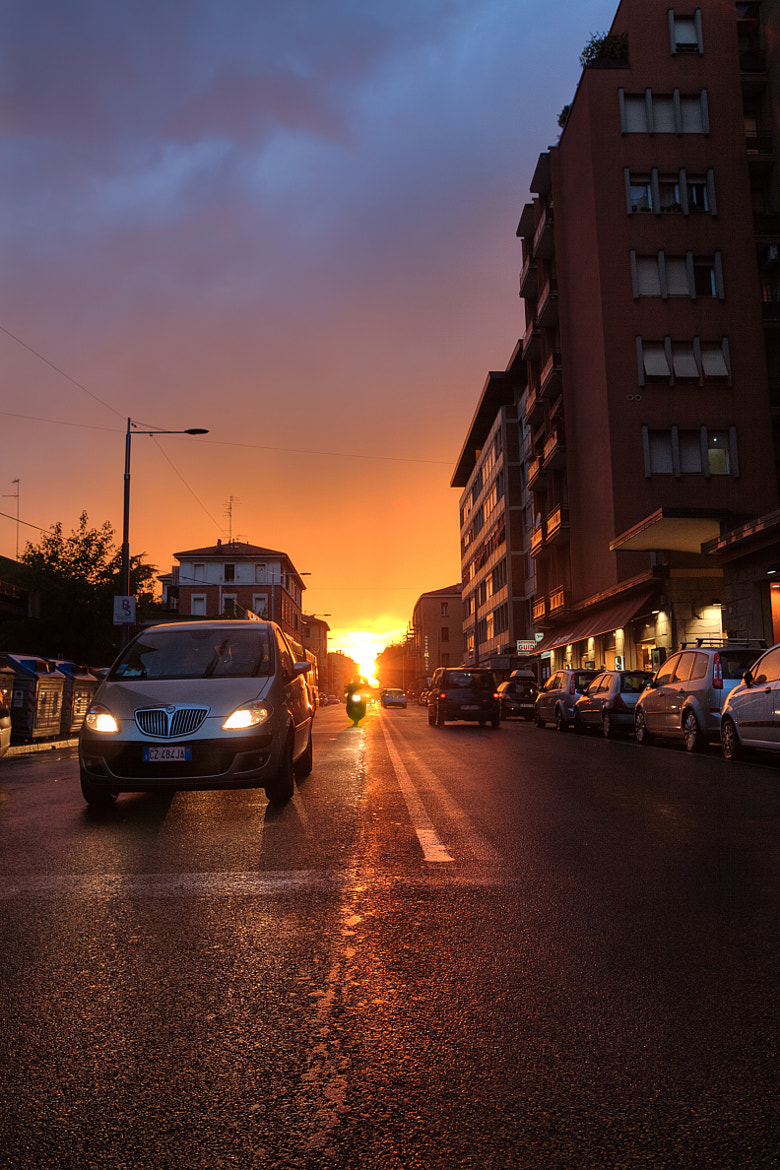 Photograph Sunset Street by Nebbius )) on 500px