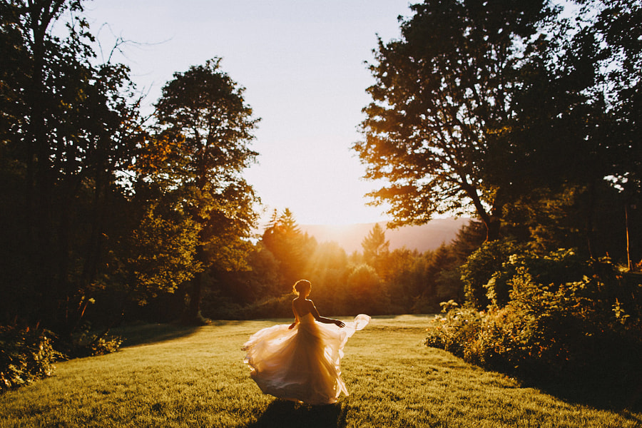 A sunset twirl. by Sara K Byrne on 500px.com