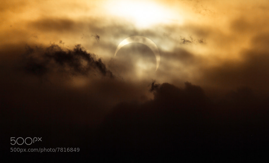 Photograph Annular Eclipse by Howard W on 500px