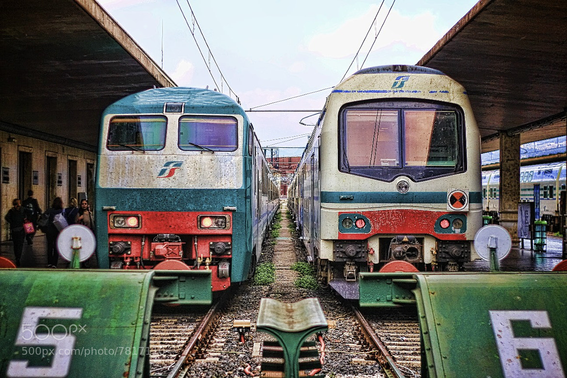 Photograph TrenItalia by Parker Mitchell on 500px