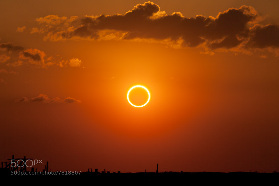 Photograph Perfect Ring of Fire by Kevin Baird on 500px