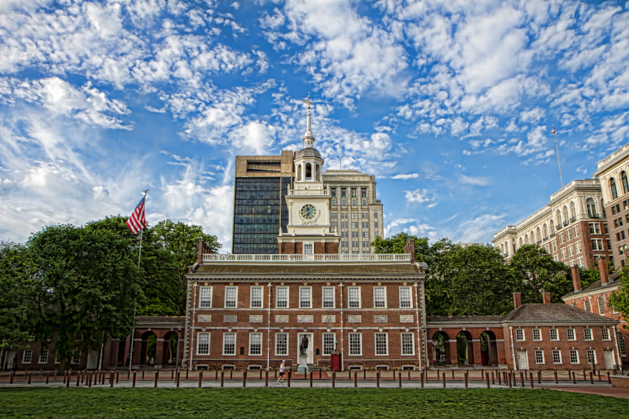 Photograph Independence Hall by Darren LoPrinzi on 500px
