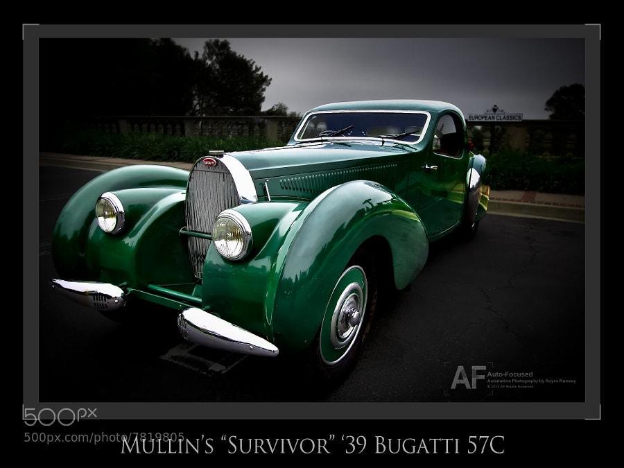 Survivor (unrestored '39 Bugatti Atlantic Coupe