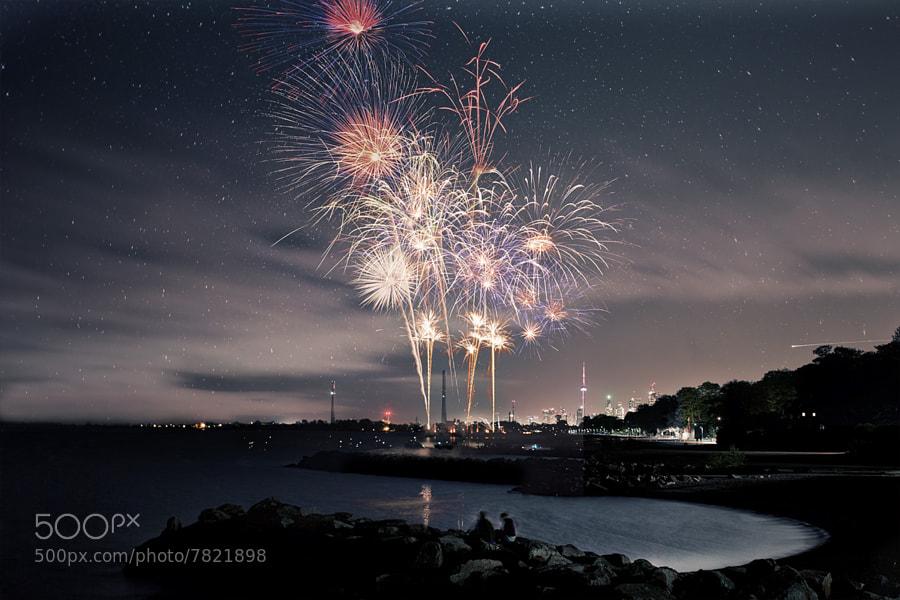 Victoria Day Fireworks by Richard Gottardo (RichardGottardo) on 500px.com