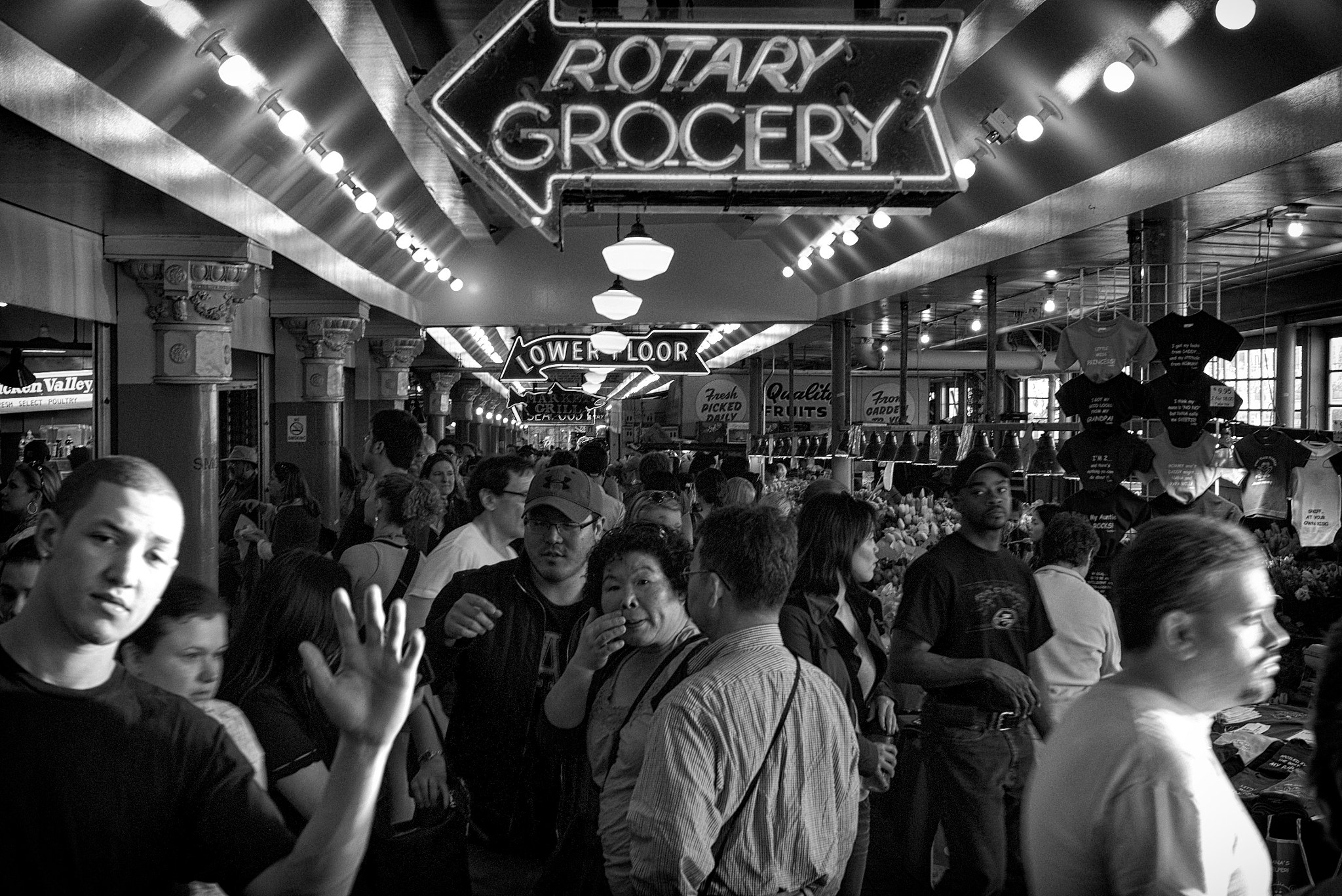 Photograph pike place market photo bomber by Damon  on 500px