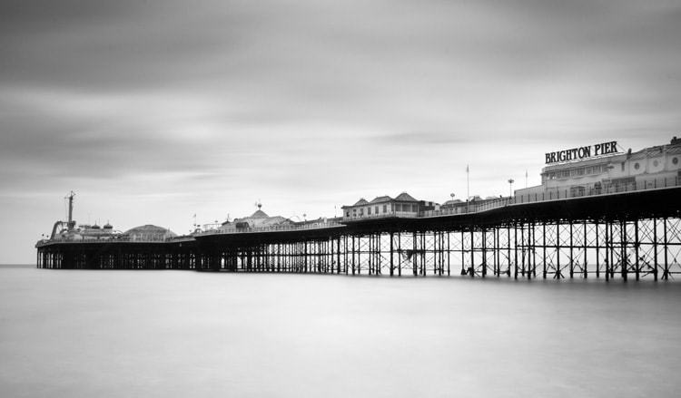 Photograph Brighton East Pier by Stewart Ayrey on 500px