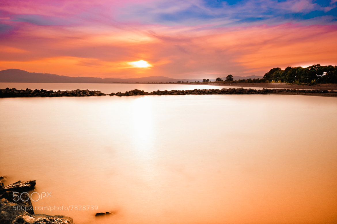 Photograph Long Exposure sunset by Stavros Argyropoulos on 500px