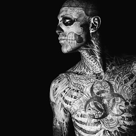 Rick Genest (Zombie Boy) by Kirill Stepanov (KirillStepanov)) on 500px.com