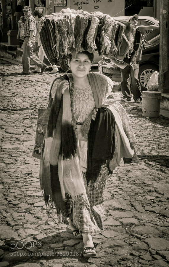 Photograph The Scarf Vendor - El Salvador by Pat Kofahl on 500px