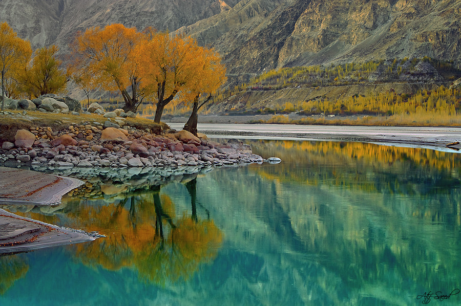 Photograph Aqua Reflection... by Atif Saeed on 500px