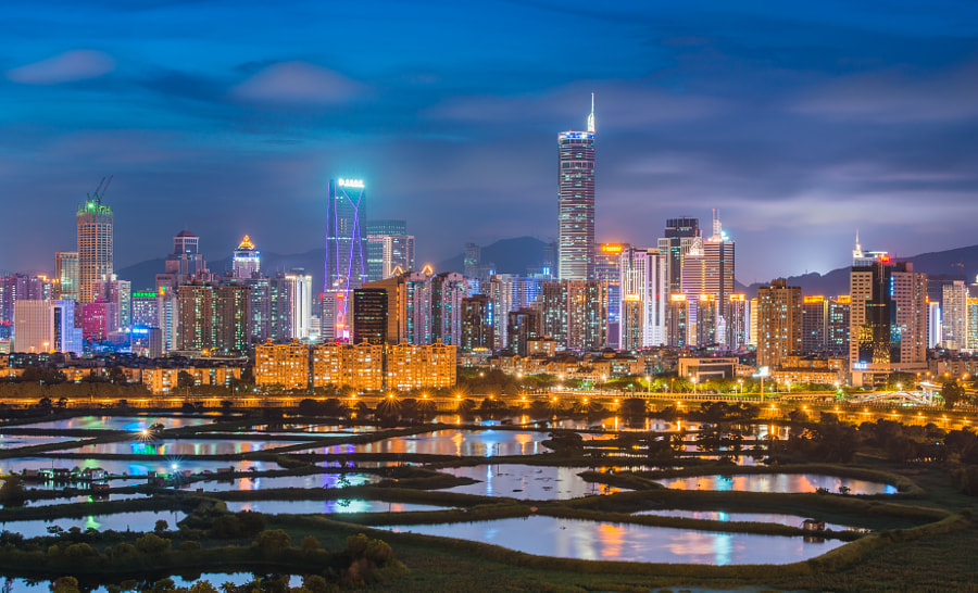 Visiting Shenzhen, China in the Winter (Photo: asean leung on 500px.com)