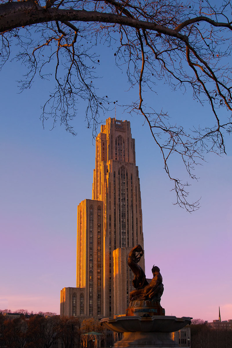 Photograph Cathedral of Learning by Jennifer Glass on 500px