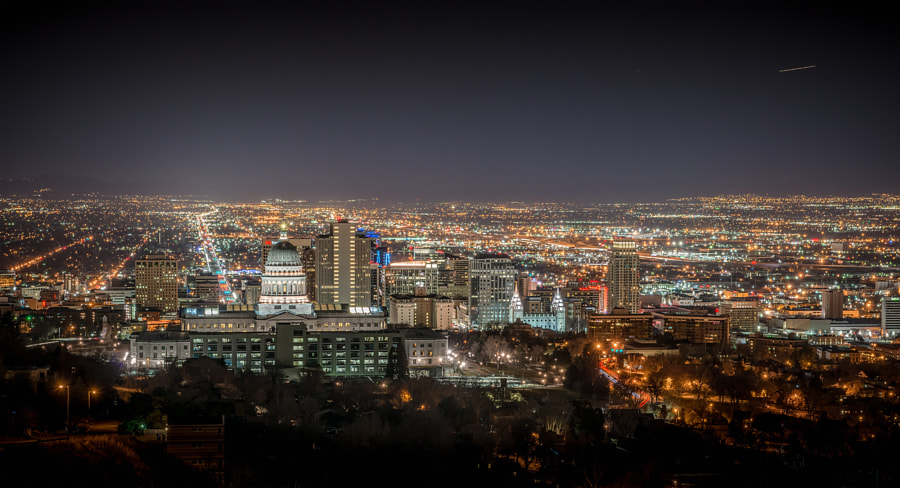 Photograph Salt Lake City Skyline by Alan Fullmer on 500px