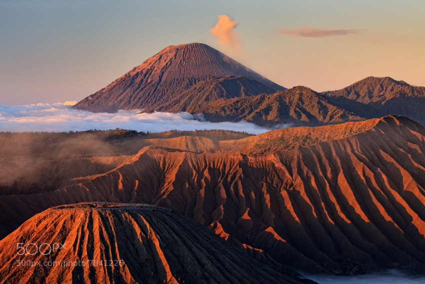 Photograph Mount Bromo and Semeru by Helminadia Ranford on 500px