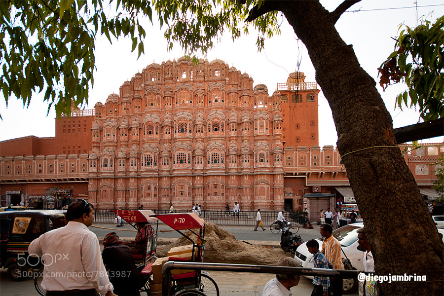 Hawa Mahal by Diego Jambrina (Elhombredemackintosh) on 500px.com
