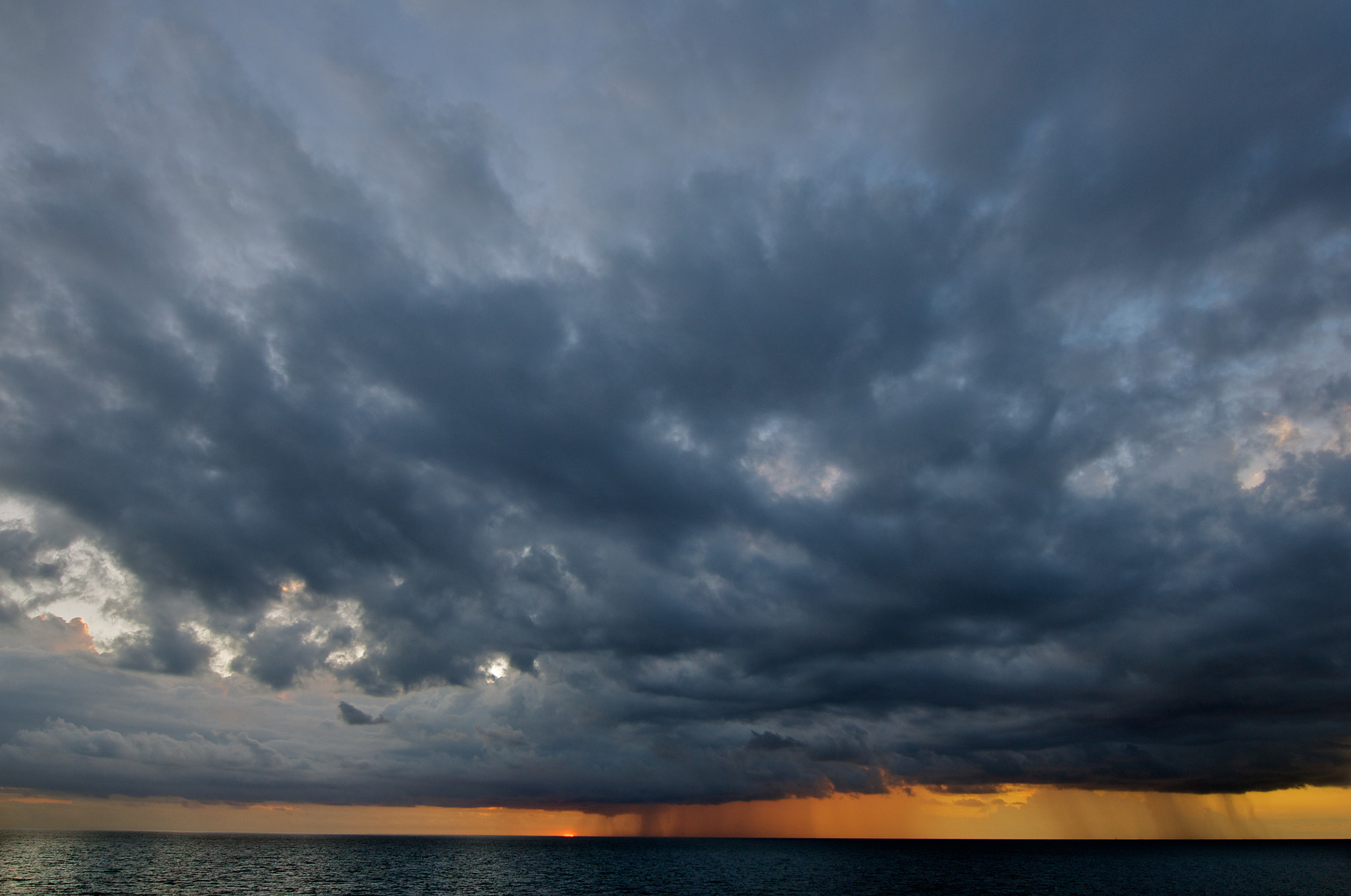 Photograph Storm at sunset by Trevor Cole on 500px