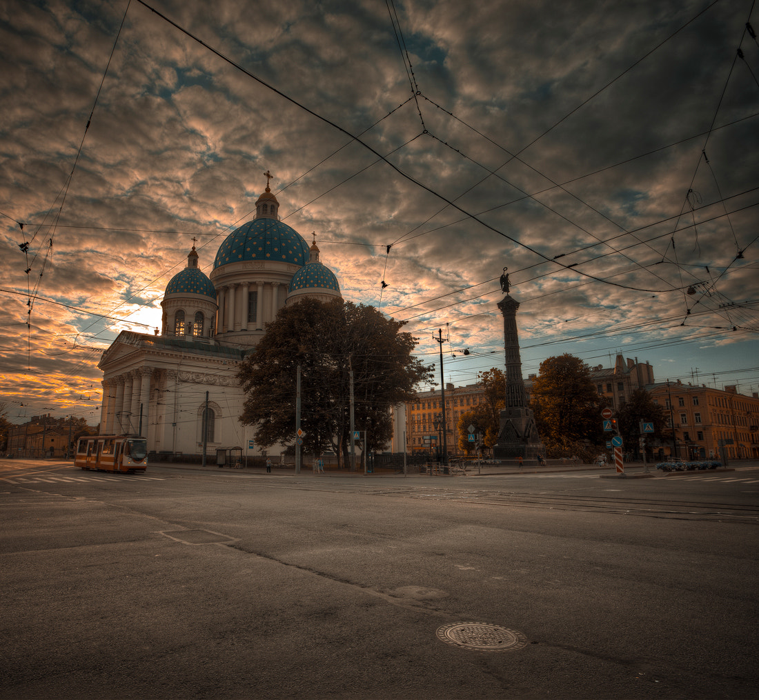 Photograph Evening in the city by Sergey Shaposhnikov on 500px