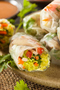 Healthy Vegetarian Spring Rolls by Kimberly Potvin on 500px