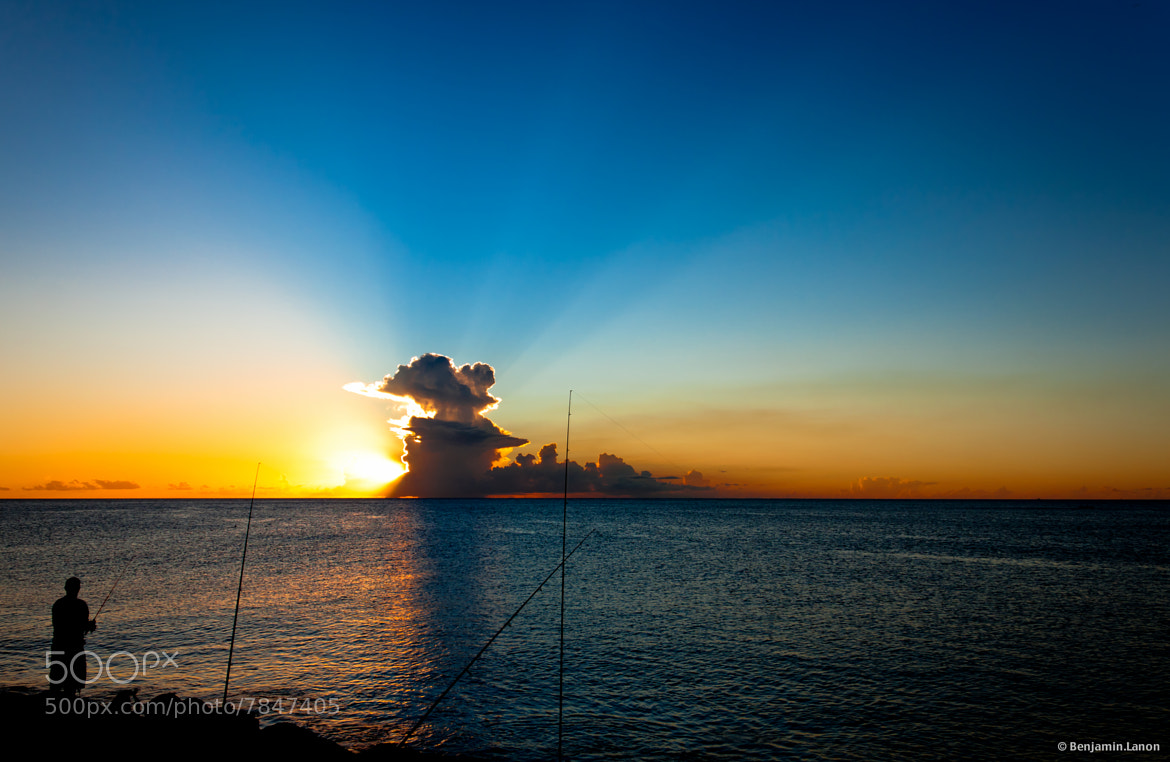 Photograph Sunset Fishing by Benjamin Lanon on 500px