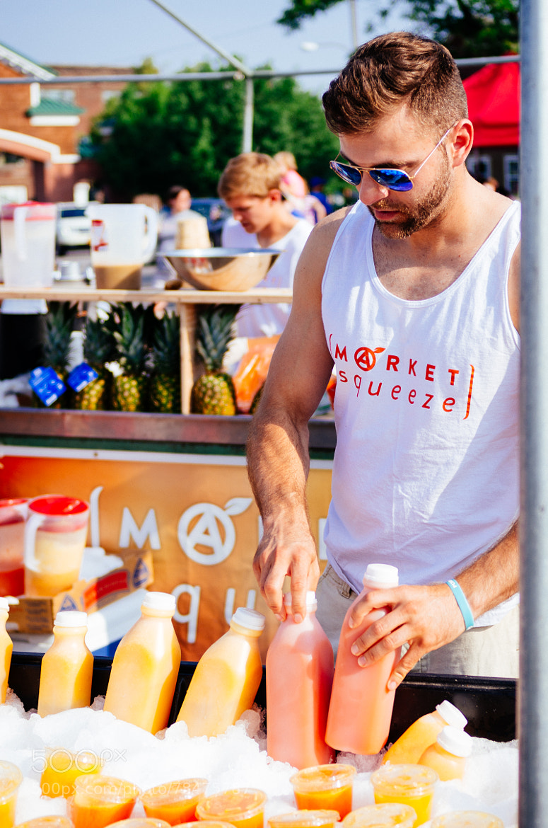 Photograph Ridiculously Photogenic Juice Guy by Steve Losh on 500px
