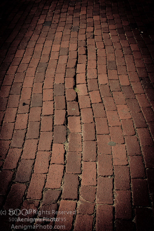 Photograph Brick Way by B.D. Poirier on 500px