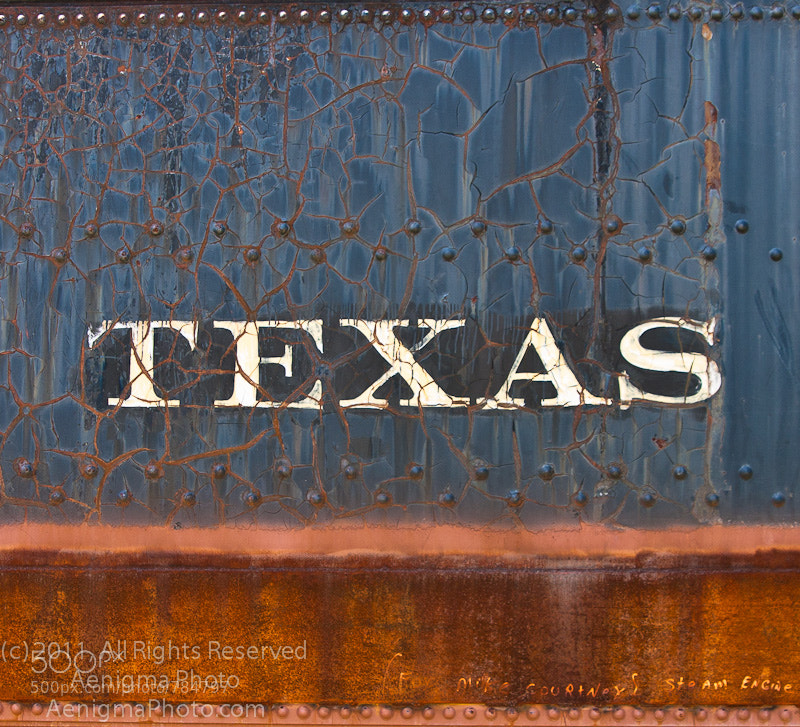 Photograph Texas Railroad by B.D. Poirier on 500px