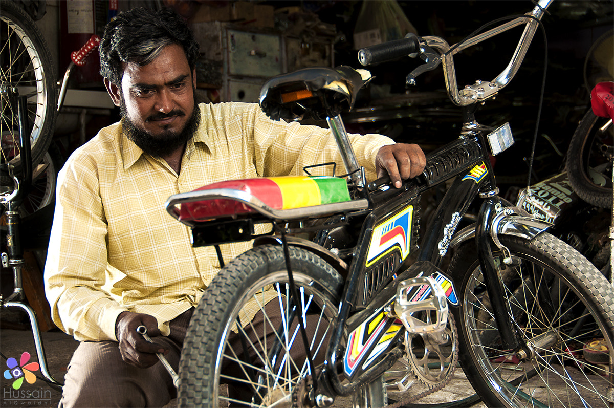 Photograph Bicycle repair by Hussain Photo on 500px
