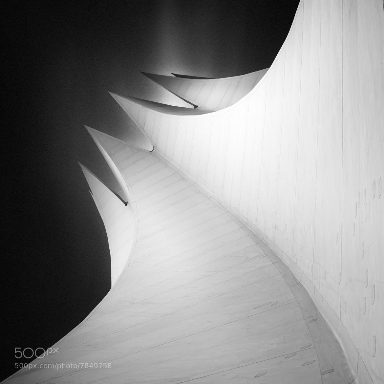 Photograph Tempodrom - Shaping the light in Berlin by Joel (Julius) Tjintjelaar on 500px