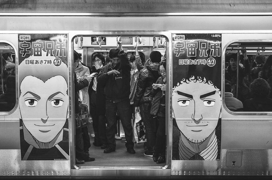 Photograph Manga Metro by Loic Labranche on 500px