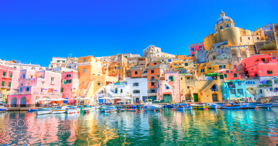 Photograph Procida, Italy by Francesco Riccardo Iacomino on 500px