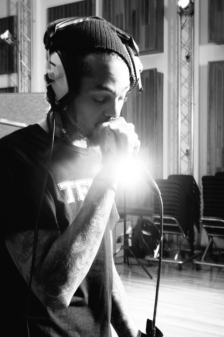 Photograph Travie McCoy of Gym Class Heroes by Grizzlee Martin  on 500px