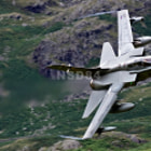Постер, плакат: RAF Tornado GR4 ZA601 low level in the Langdales