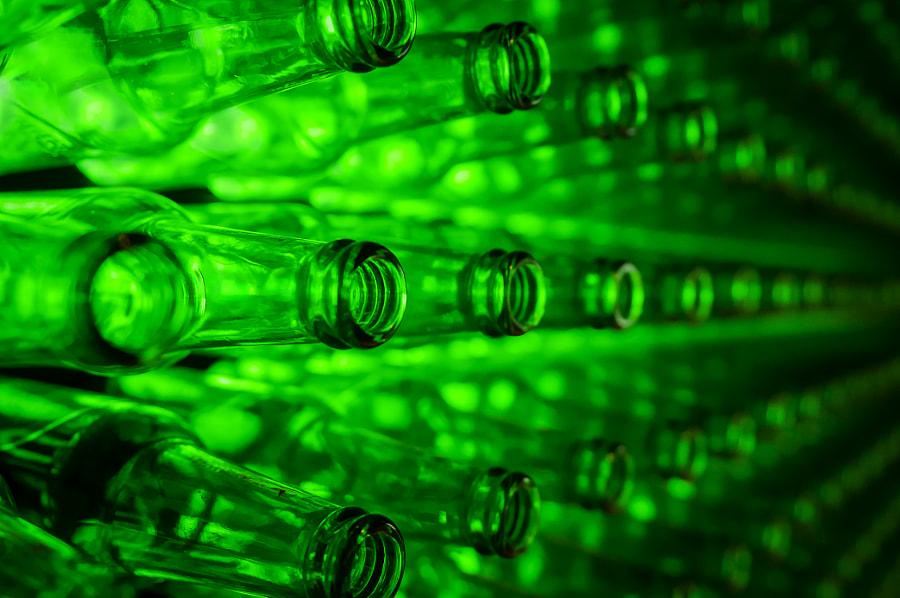green bottles by Giuseppe Torretta on 500px.com