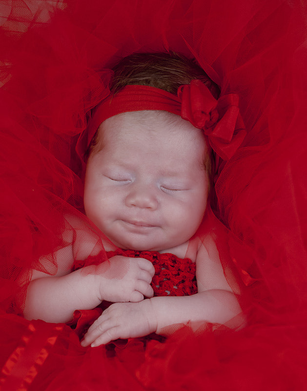 Photograph Baby in red by Wendy Summers on 500px