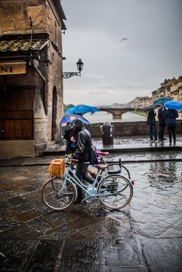 Florence sous la pluie - Projet