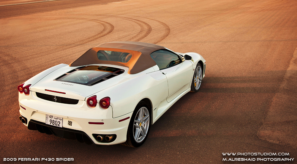Photograph Ferrari F430 Spider - Going Away by Mishari Al-Reshaid on 500px