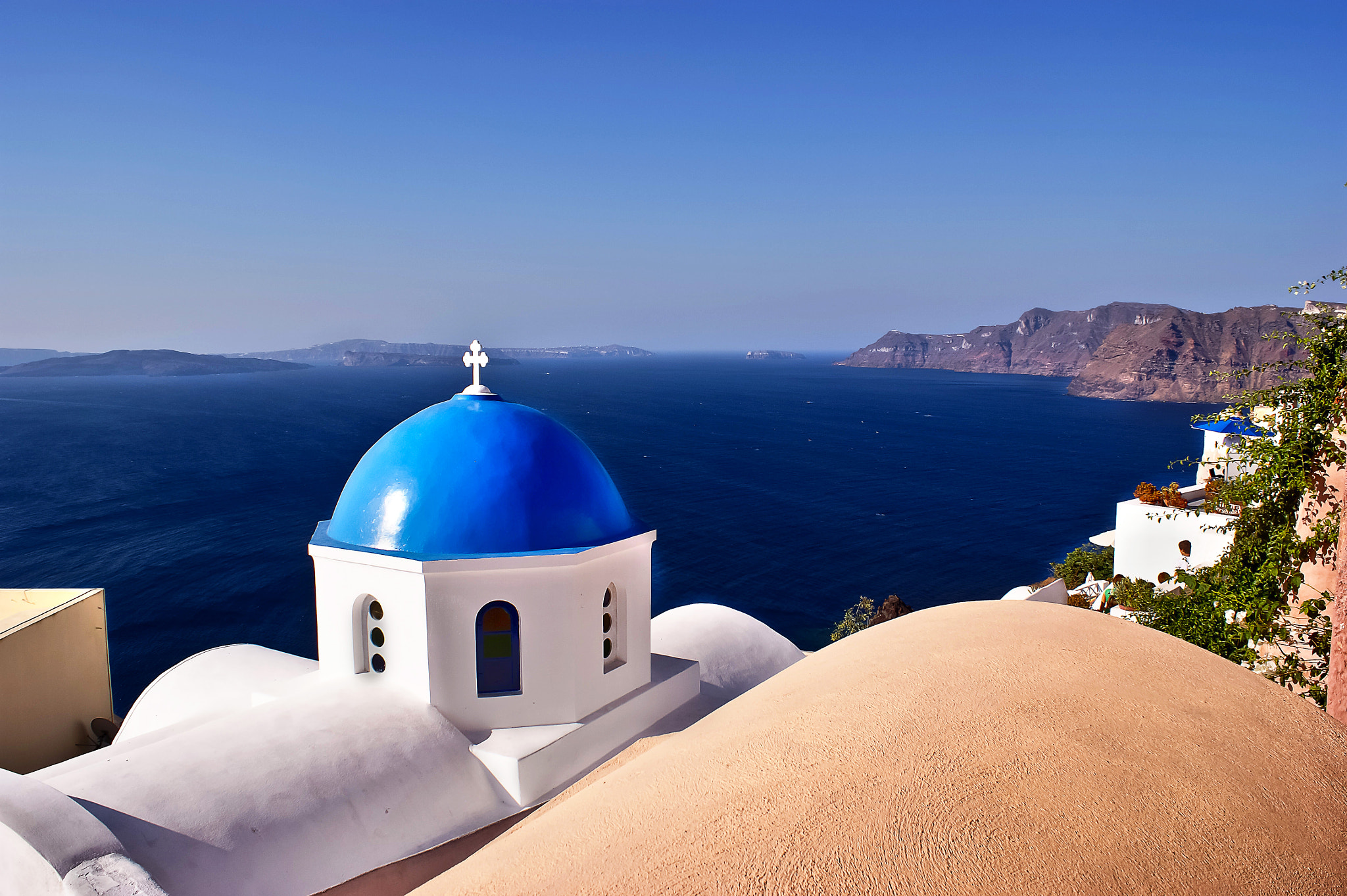 Photograph © Blue of Santorini Island by Renzo Re on 500px