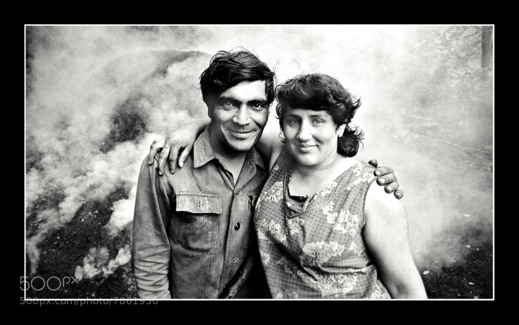 Photograph The Proud Charcoal maker and his Wife by László Baranyai on 500px