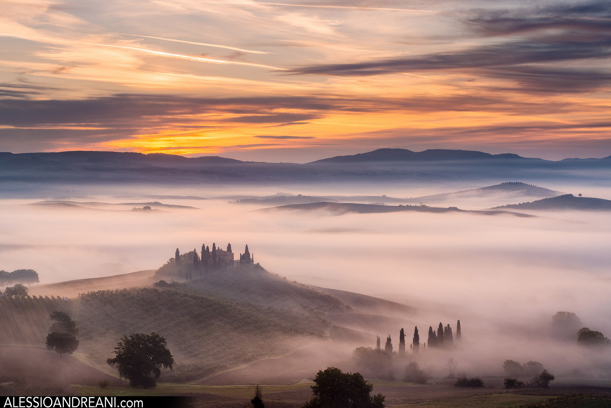 Photograph In the misty Tuscany by Alessio Andreani on 500px
