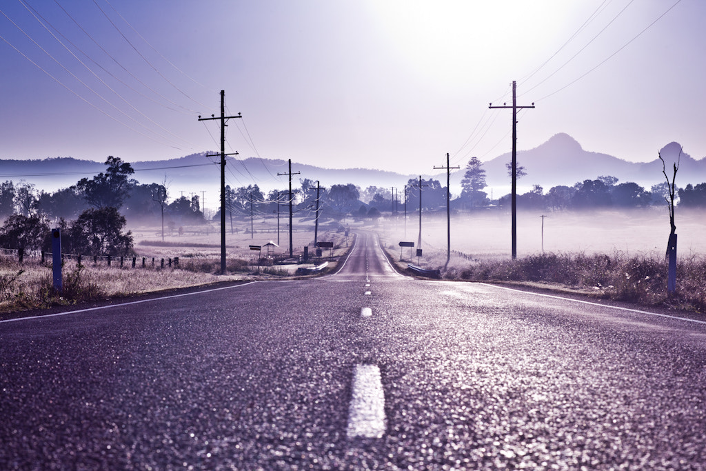 Photograph Lonely Road by Andrew Tallon on 500px