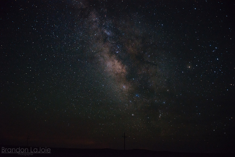 Milky Way Galaxy from Des Moines New Mexico