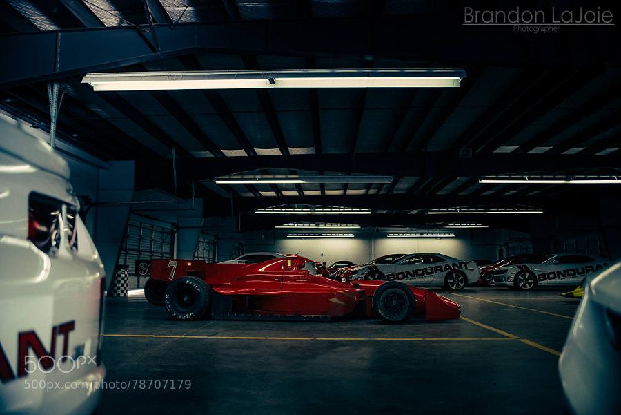 Vintage Formula Car at PPIR